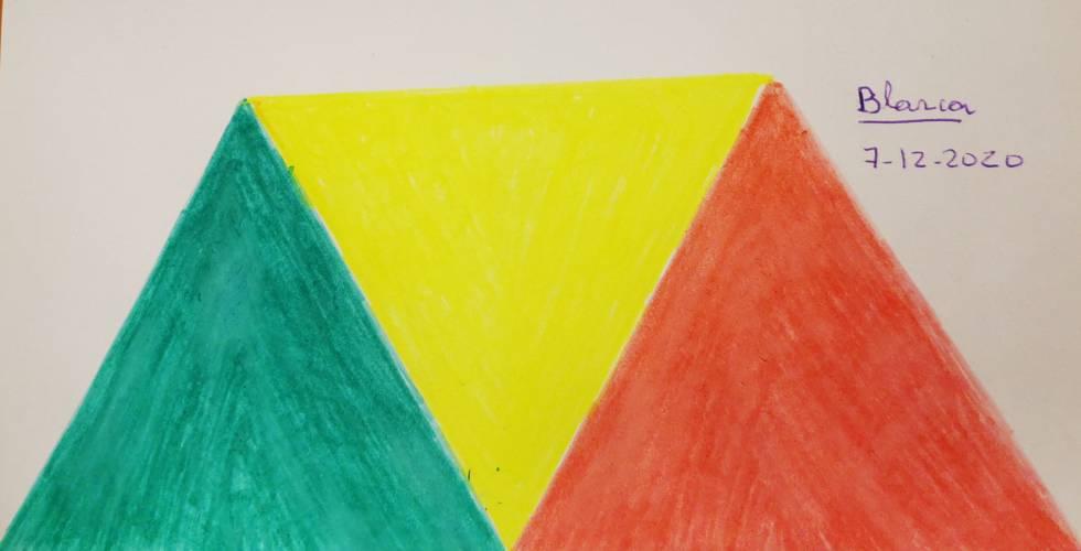 Triangulos Llama trina
